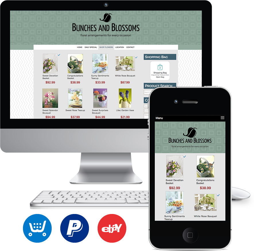 Add Ecommerce to your Website