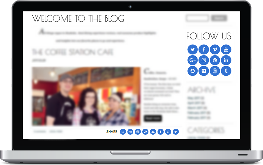 Adding Social Sharing Icons to the Bravenet Blog is Easy