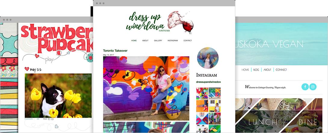 Customizable Blog Themes