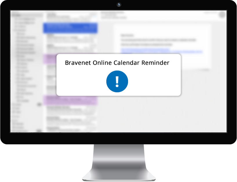 Set Reminders with the Bravenet Online Calendar Service