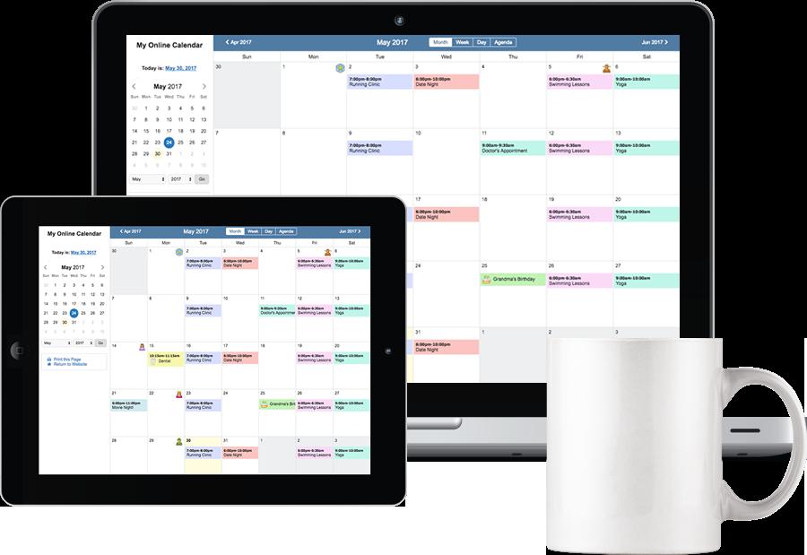 Bravenet Online Calendars