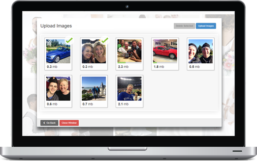Bravenet Online Photo Albums can be Embedded onto your Website