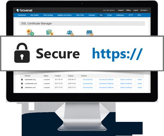 Bravenet SSL Certificates